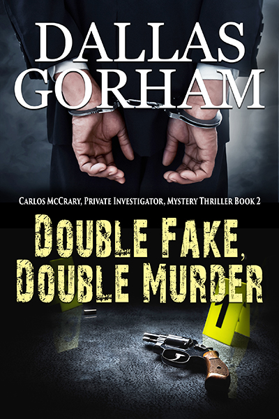 Double Fake Double Murder Book Cover on Book page