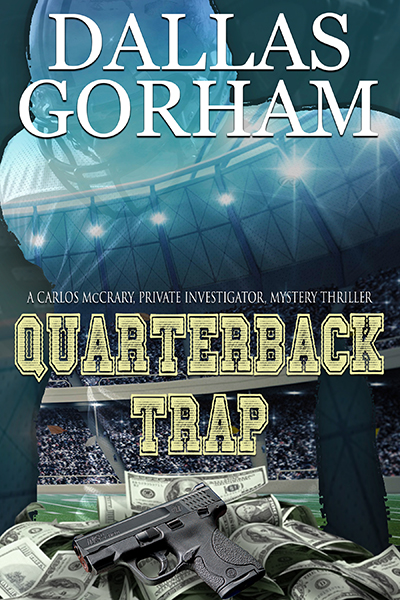 Quarterback Trap book cover for book page