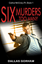Book Cover for Six Murders Too Many